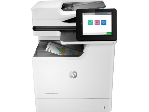 HP Color LaserJet Enterprise MFP M681dh - Center
