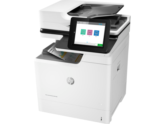 HP Color LaserJet Enterprise MFP M681dh - Left