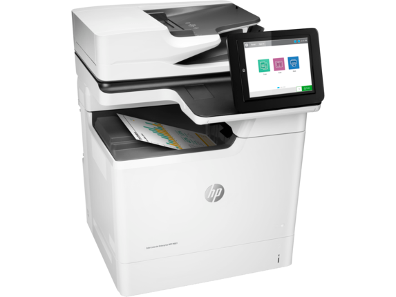 HP Color LaserJet Enterprise MFP M681dh - Right