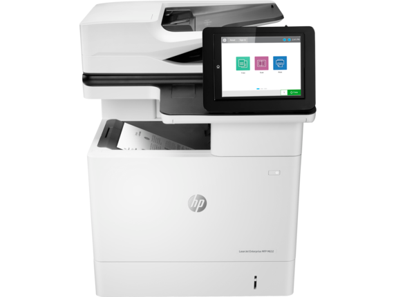 HP LaserJet Enterprise MFP M632h - Center