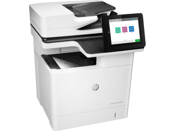 HP LaserJet Enterprise MFP M632h - Right