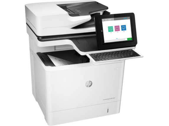 HP LaserJet Enterprise Flow MFP M631h - Right
