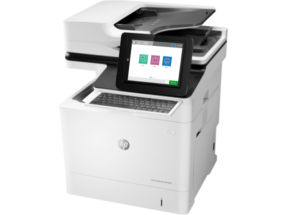HP LaserJet Enterprise Flow MFP M631h - Left