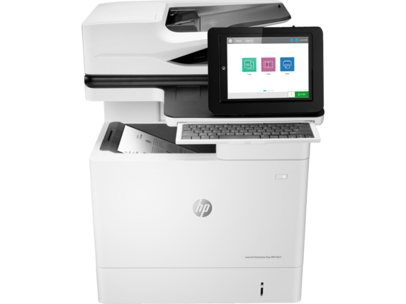 HP LaserJet Enterprise Flow MFP M631h - Center