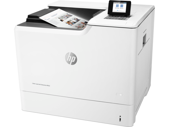 HP Color LaserJet Enterprise M652dn - Left