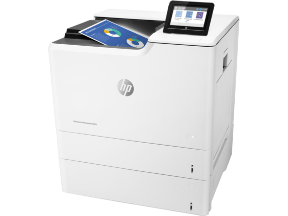 HP Color LaserJet Enterprise M653x - Left