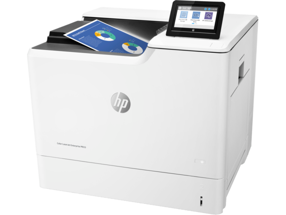 HP Color LaserJet Enterprise M653dn - Left