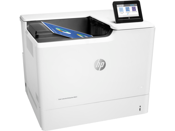 HP Color LaserJet Enterprise M653dn - Right
