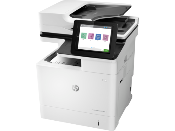 HP LaserJet Enterprise MFP M633fh - Left