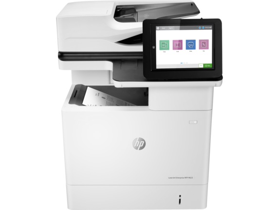 HP LaserJet Enterprise MFP M633fh - Center