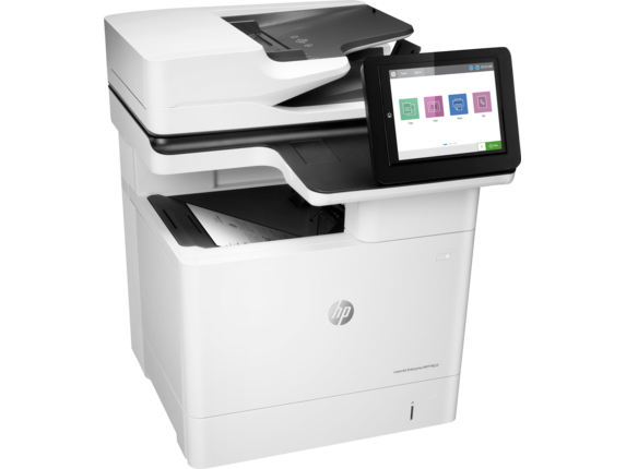 HP LaserJet Enterprise MFP M633fh - Right