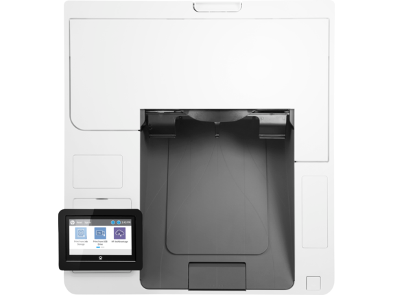 HP LaserJet Enterprise M609x - Top view closed
