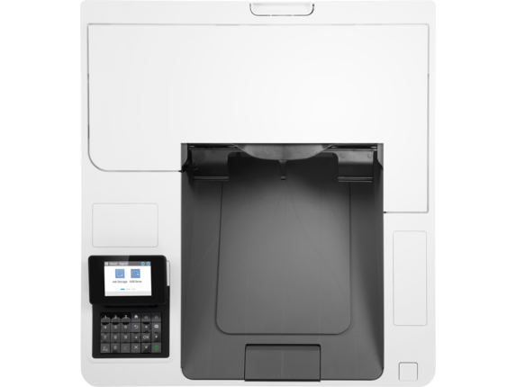 HP LaserJet Enterprise M609dn - Top view closed