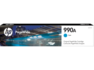 HP 990A Cyan Original PageWide Cartridge - Img_Center_320_240