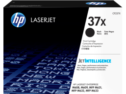 HP 37X High Yield Black Original LaserJet Toner Cartridge, CF237X