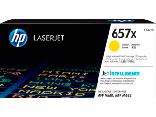 HP 657 Toner Cartridges