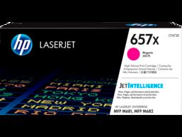 HP 657X High Yield Magenta Original LaserJet Toner Cartridge, CF473X
