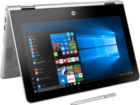 HP Pavilion x360 - 11-ad051nr - Right rear