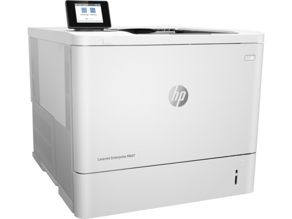 HP LaserJet Enterprise M607n - Right