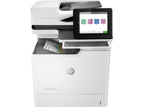 HP Color LaserJet Enterprise M681 MFP 系列