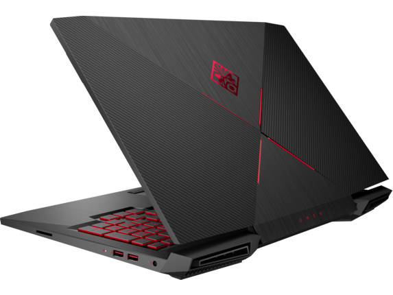 OMEN Laptop - 15-ce051nr - Left rear