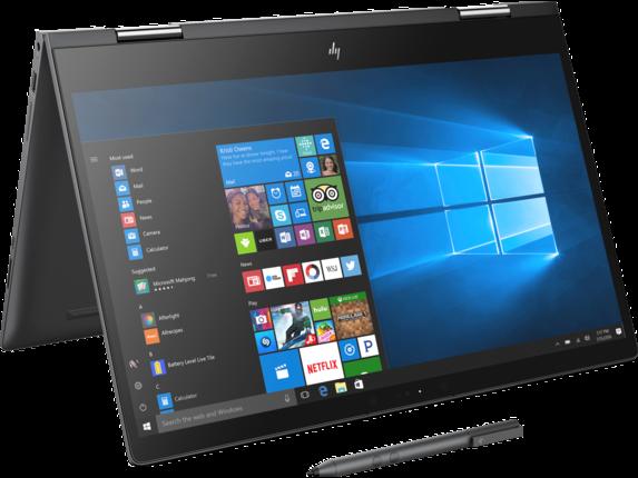 HP ENVY x360 Convertible Laptop - 15z touch - Right rear