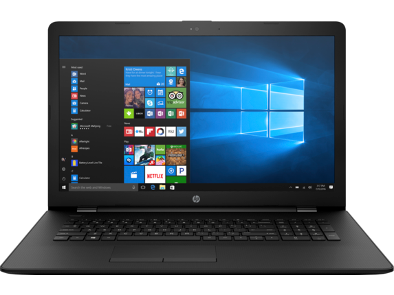 "HP Essential 17-ak061nr 17.3"" HD+ AMD Quad Core A9 Laptop"