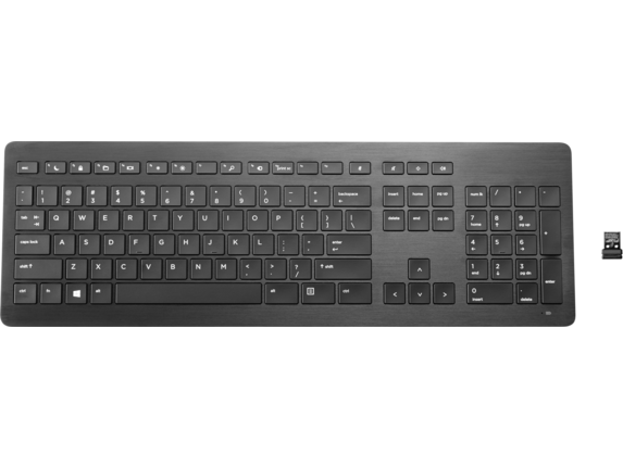 HP Wireless Premium Keyboard - Center