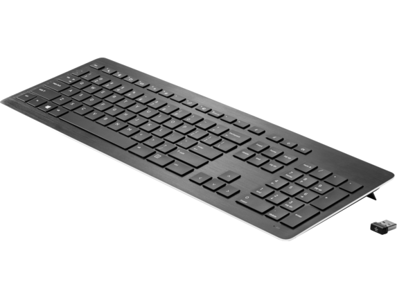 HP Wireless Premium Keyboard - Left