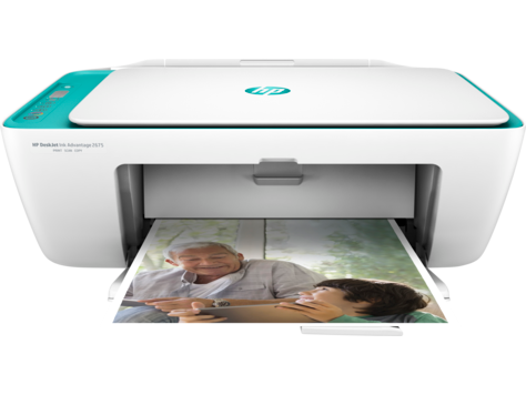 Todo-en-Uno HP Deskjet Ink Advantage 2675