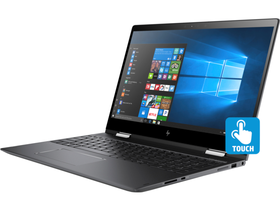 HP ENVY x360 Convertible Laptop - 15z touch - Left
