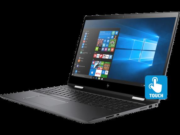 HP ENVY x360 Convertible Laptop - 15z touch - Left