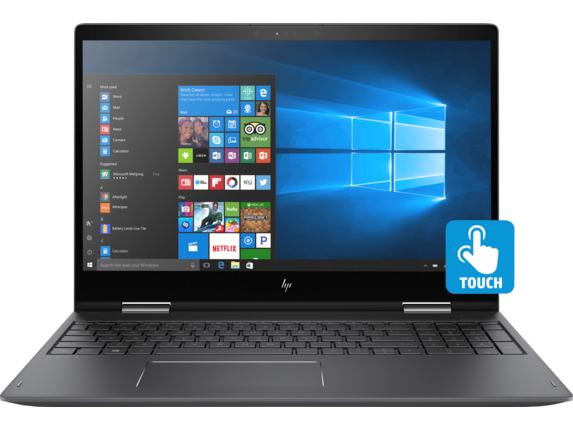 HP ENVY x360 Convertible Laptop - 15z touch (1ZA07AV_1 ...