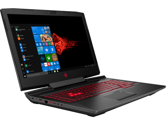 OMEN Laptop - 17t gaming 8GB gfx - Right