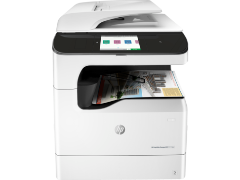 Serie P77760 de impresoras multifunción HP PageWide Managed