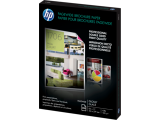 HP PageWide Glossy Brochure Paper-200 sht/Letter/8.5 x 11 in - Img_Left_320_240