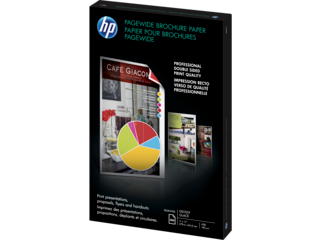 HP PageWide Glossy Brochure Paper-200 sht/Tabloid/11 x 17 in - Img_Left_320_240