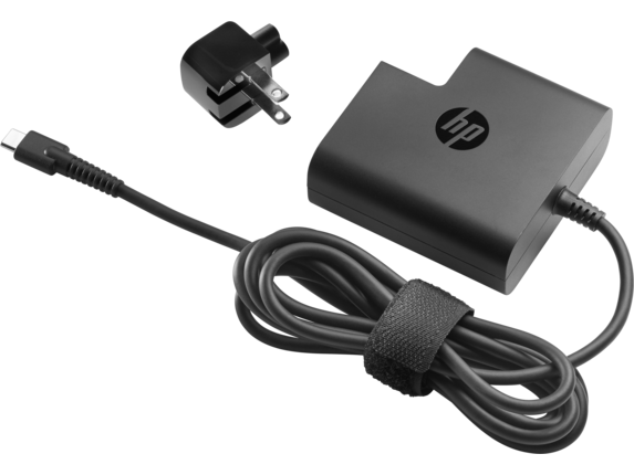HP USB-C Travel Power Adapter 65W - Center