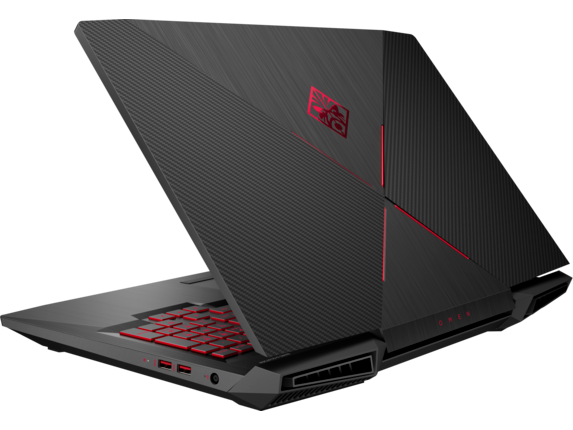 OMEN by HP - 17t Laptop Best Value - Left rear