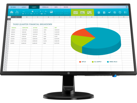 Monitor HP N246v de 23,8 pulg.