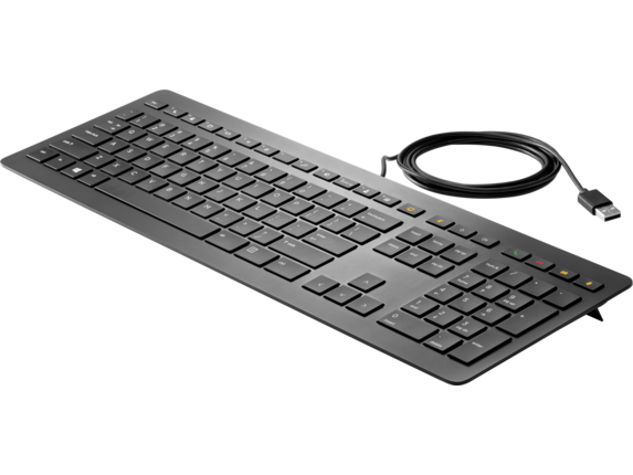 HP USB Collaboration Keyboard - Left