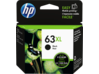 HP 63XL High Yield Black Original Ink Cartridge - Center