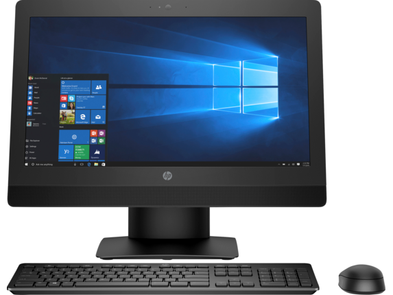 HP ProOne 600 G3 21.5-inch Non-Touch All-in-One PC - Center