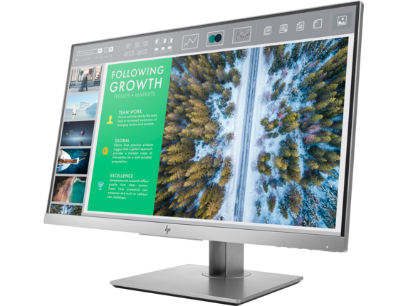 HP EliteDisplay E243 23.8-inch Monitor - Left