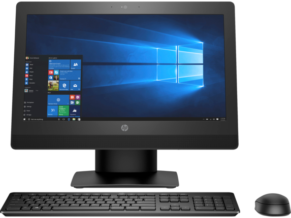 HP ProOne 400 G3 20-inch Non-Touch All-in-One PC - Center