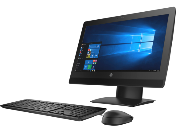 HP ProOne 400 G3 20-inch Non-Touch All-in-One PC - Left