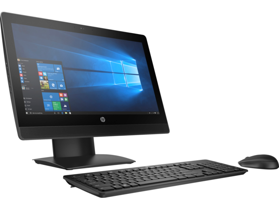 HP ProOne 400 G3 20-inch Touch All-in-One PC - Right
