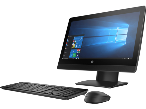 HP ProOne 400 G3 20-inch Touch All-in-One PC - Left