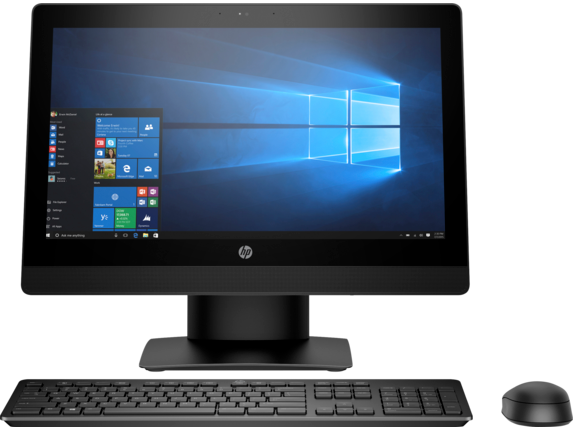 HP ProOne 400 G3 20-inch Touch All-in-One PC - Center