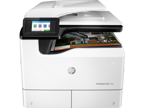 HP PageWide Pro 772-multifunktionsskrivarserie